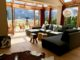 Chalet SONNWINKL: ab 290 Euro pro Nacht, 4 SZ, 10 Min. Kitzbühel, Outdoor-Whirlpool - Wohnzimmer mit großem Sofa